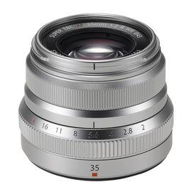 Fuji XF 35mm F2.0 R WR Lens - Silver - 600015905