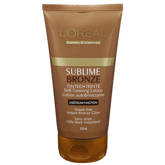 L'Oreal Sublime Tinted Self Tanning Lotion - Medium - 150ml