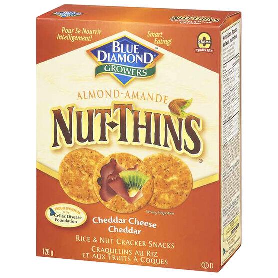 Blue Diamond Nut-Thins - Cheddar Cheese - 120g