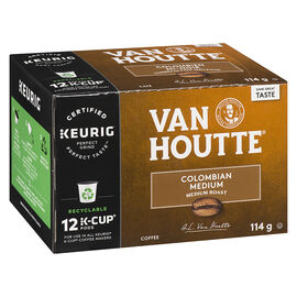 K-Cup Van Houtte Medium Roast Coffee - Colombian - 12 Servings