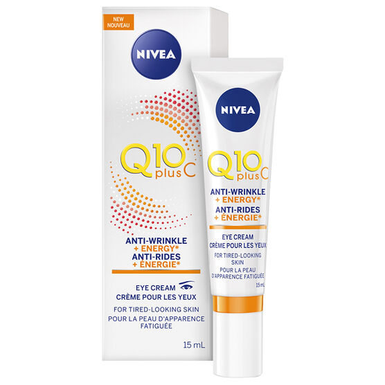 Nivea Q10 Plus C Anti-Wrinkle + Energy Eye Cream - 15ml