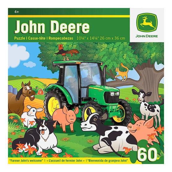John Deere Farmer John's Welcome Puzzle - 60 pieces
