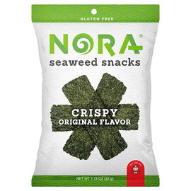 Nora Seaweed Crispy Snacks -  Original - 32g