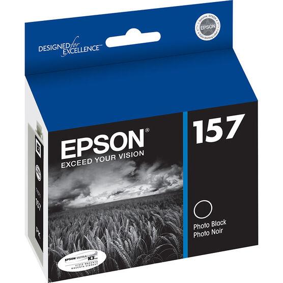 Epson 157 Ink Cartridge - Photo Black - T157120