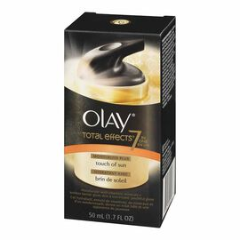 Olay Total Effects 7-in-1 Anti-Aging Moisturizing with Touch of Sun - 50ml