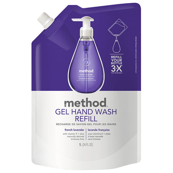 Method Hand Wash Refill - Lavender - 1L