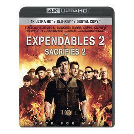 The Expendables 2 - 4K UHD Blu-ray