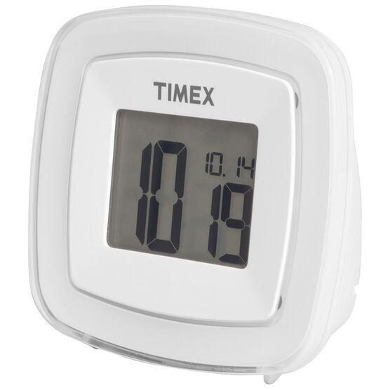Timex Dual Alarm Clock - White - T104WWC