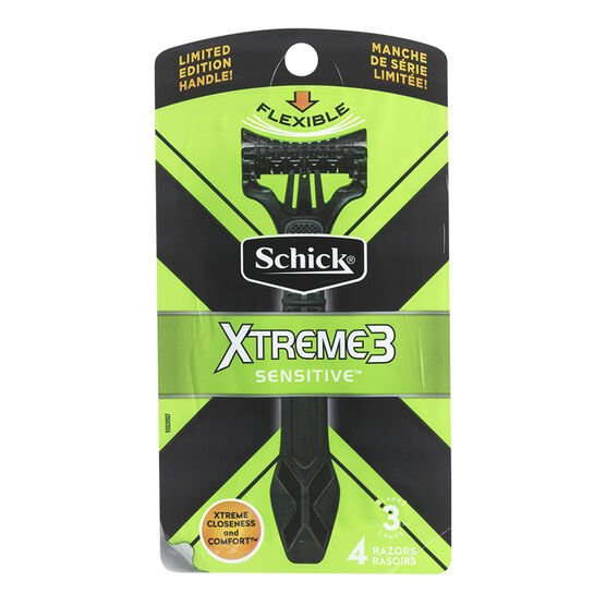Schick Xtreme 3 - 4's