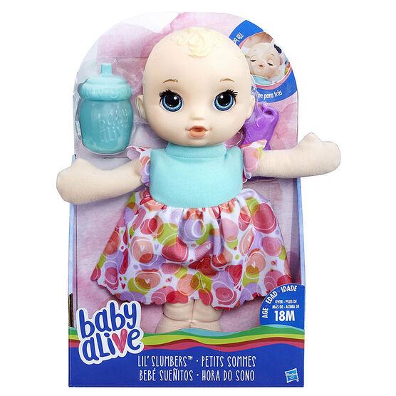 Baby Alive Lil Slumbers - Blonde