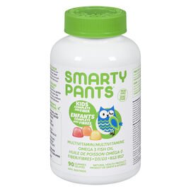 Smartypants Kids Complete Multivitamin Gummies with Fiber - 90's