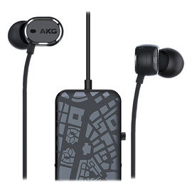AKG N20NC In-Ear Active Noise-Cancelling Headphones - Black - AKGN20NCBLK