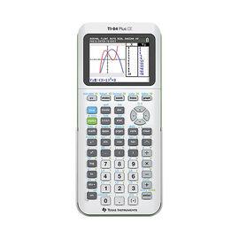 TI 84 Plus CE Graphing Calculator - White - 84PLCE/TBL/2L1/W
