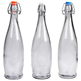 Decorative Bottle with Stopper - 1L - Assorted