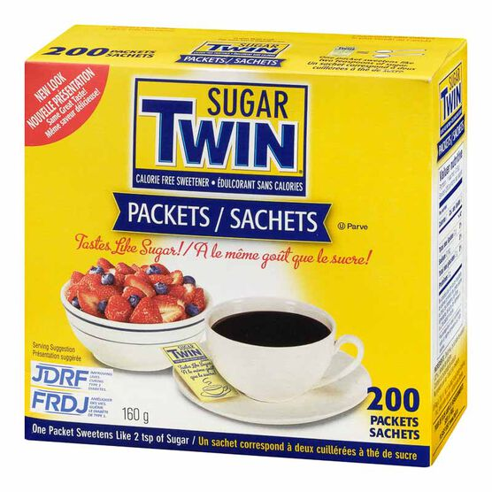 Sugar Twin Packets - 200's