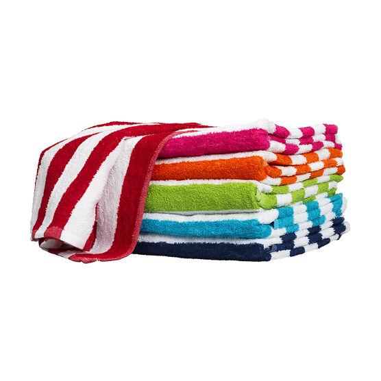 Cabana Stripe Beach Towel - Assorted
