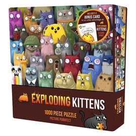 Exploding Kittens Puzzle