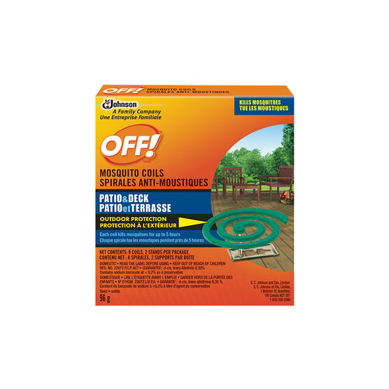 Off Mosquito Coils - 8 pack