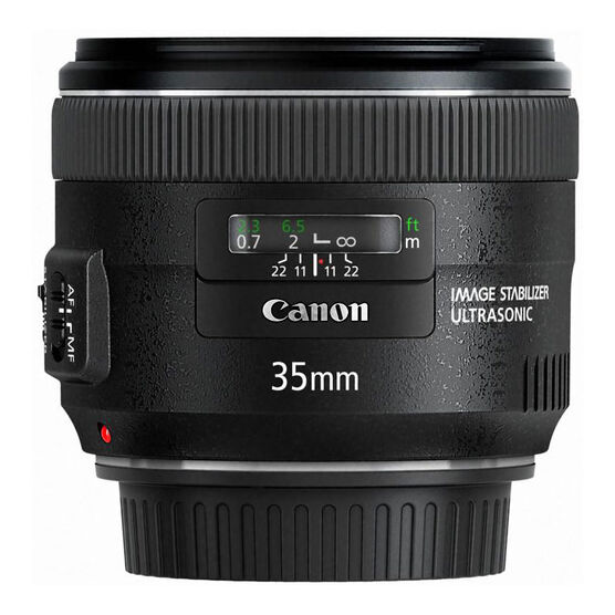 Canon EF 35mm f/2 IS USM Wide-Angle Lens - 5178B002