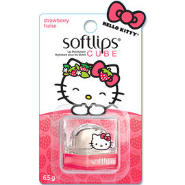 Softlips Hello Kitty Cube - Strawberry - 6.5g