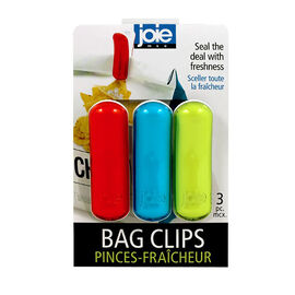 MSC Joie Bag Clips - 3 piece