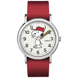 Timex x Peanuts Weekender Watch - Snoopy - TW2R41400JT