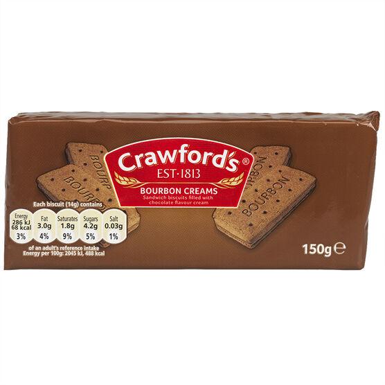 Crawford's Bourbon Creams Biscuit - 150g