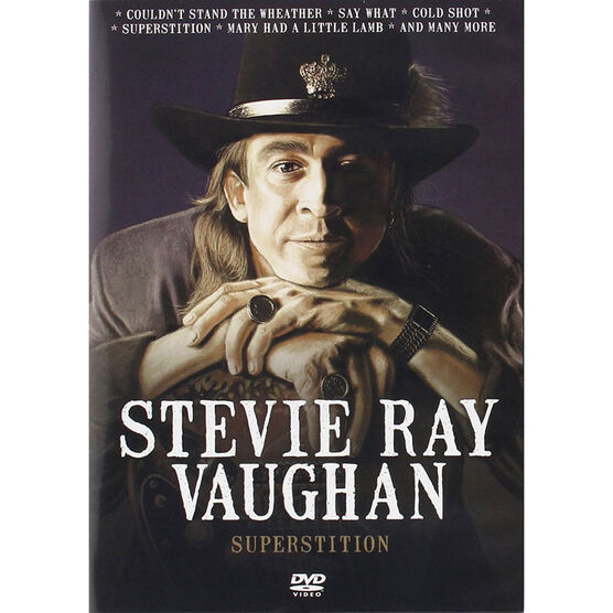 Stevie Ray Vaughan - Superstition - DVD