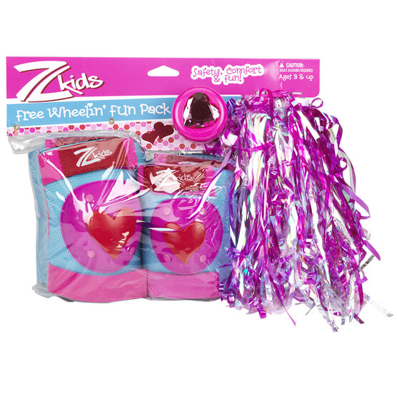 Z Kids Bike Accessory Fun Pack - Girls