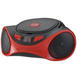 Sylvania Bluetooth Portable Stereo - Red - SRCD1063BTRED