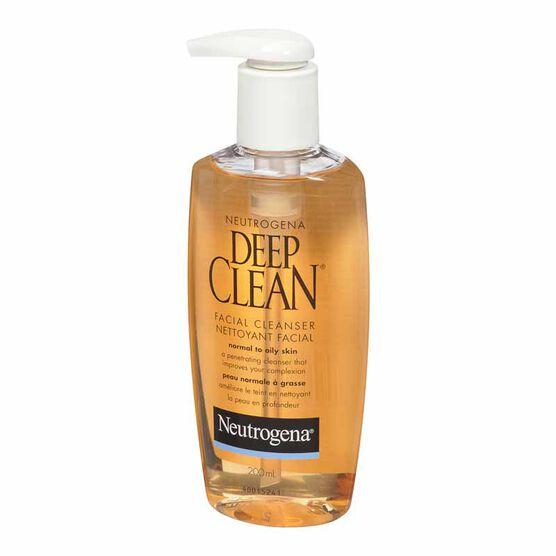 Neutrogena Deep Clean Facial Cleanser - 200ml