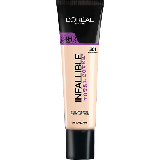 L'Oreal Infallible Total Cover Foundation - Classic Ivory
