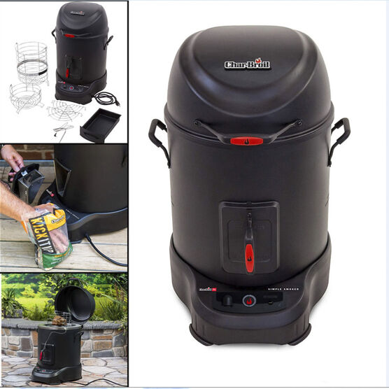 Char-Broil 800 cu.in. Electric Smoker - Black - 15102042