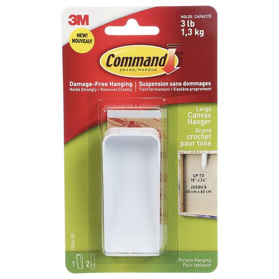 Command™ Large Canvas Hanger - Single