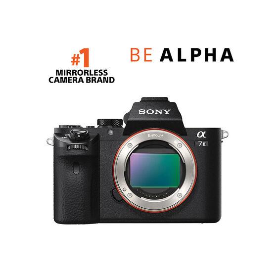 Sony Alpha A7 II Body - Black - ILCE7M2