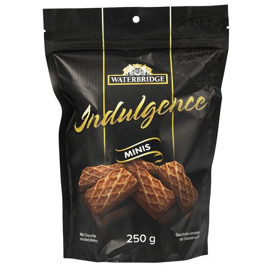 Waterbridge Indulgence Minis Chocolate Wafers - 250g