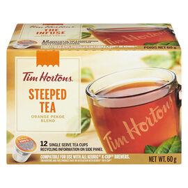 Tim Hortons Steeped Tea - Orange Pekoe - 12 Pack