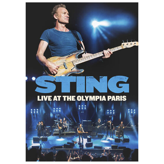 Sting: Live At The Olympia Paris - DVD