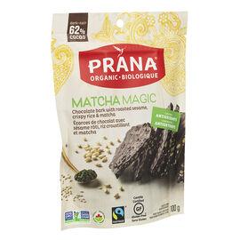 Prana Matcha Magic Chocolate Bark - 100g