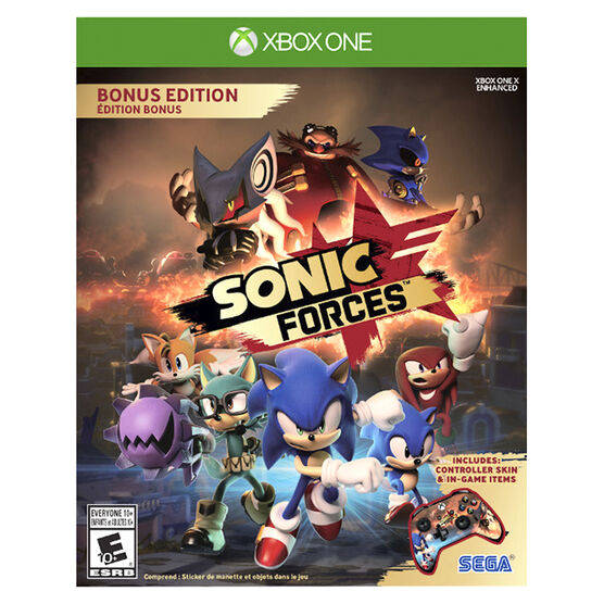 Xbox One Sonic Forces Bonus Edition