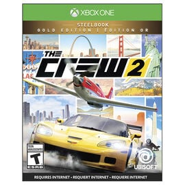 Xbox One The Crew 2: Gold Steelbook Edition