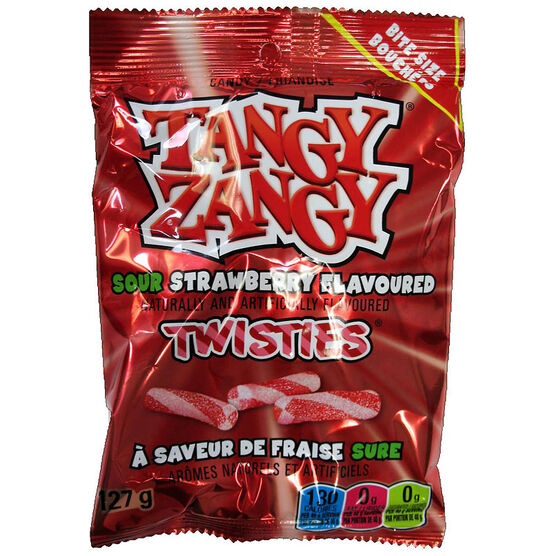 Tangy Zangy Sour Sticks - Strawberry - 127g