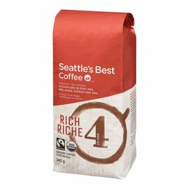 Seattle's Best Ground Coffee - Organic Rich - 340g