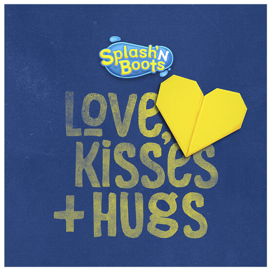 Splash'N Boots - Love, Kisses + Hugs - CD