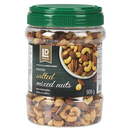 LD Gold Roasted Mixed Nuts - Salted