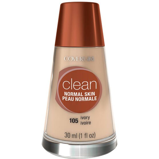 CoverGirl Clean Liquid Makeup for Normal Skin - Ivory
