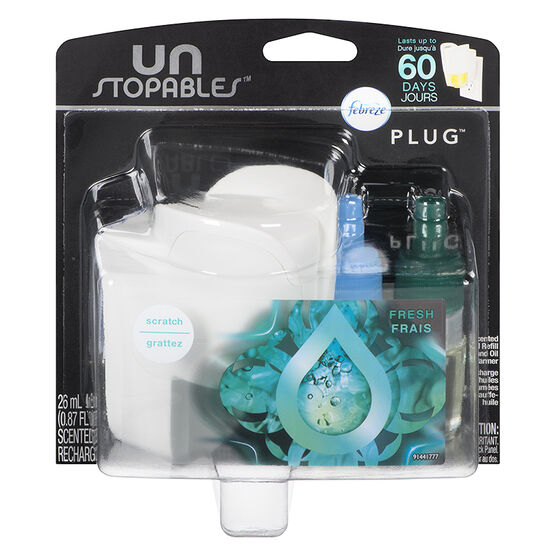 Febreze UNstopables Scented Oil + Warmer - Fresh and Flirty