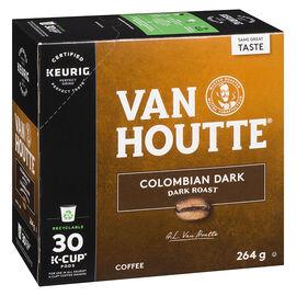 K-Cup Van Houtte Coffee - Colombian Dark Roast - 30 Servings
