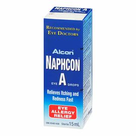 Alcon Naphcon-A Eye Drops - 15ml