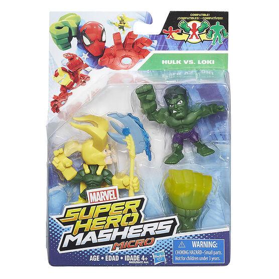 Avengers Super Hero Mashers Micro - 2 pack - Assorted
